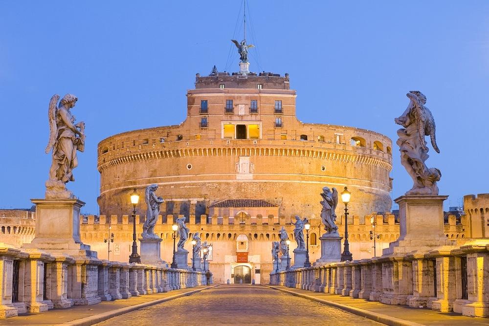 anjelsky hrad rím