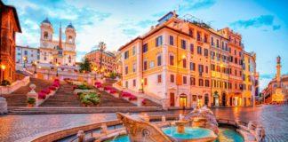 španielske schody rím