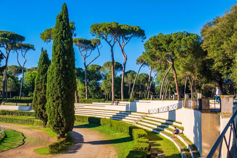 Villa Borghese rimane