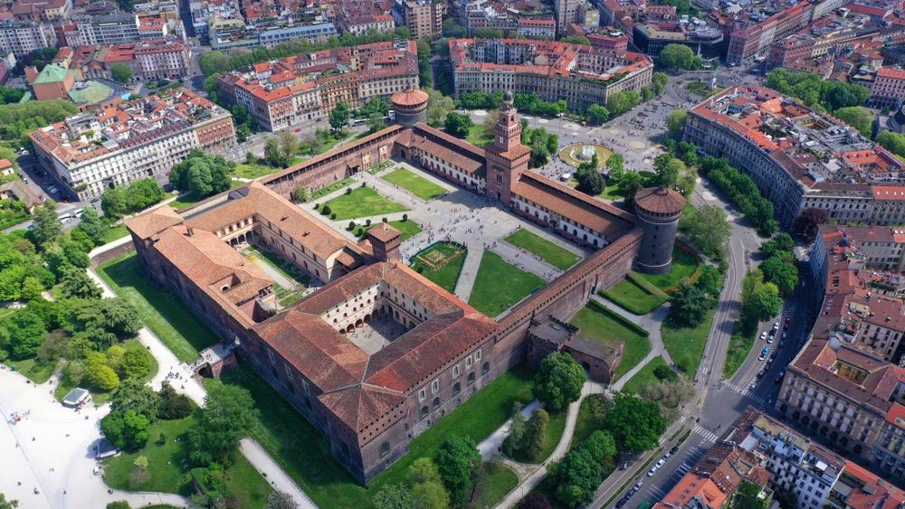 miláno Castello Sforzesco