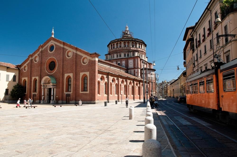 miláno Santa Maria delle Grazie