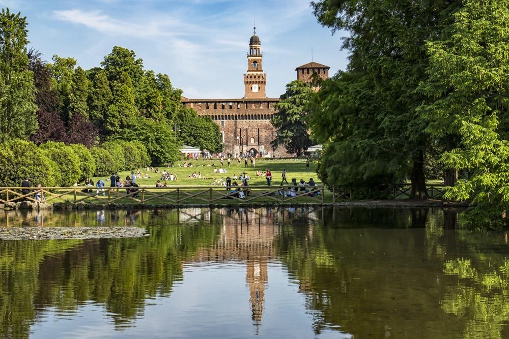 miláno Parco Sempione