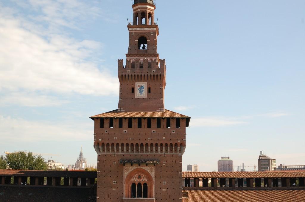 Castello Sforzesco - By: Corrado Ubezio - CC BY 2.0