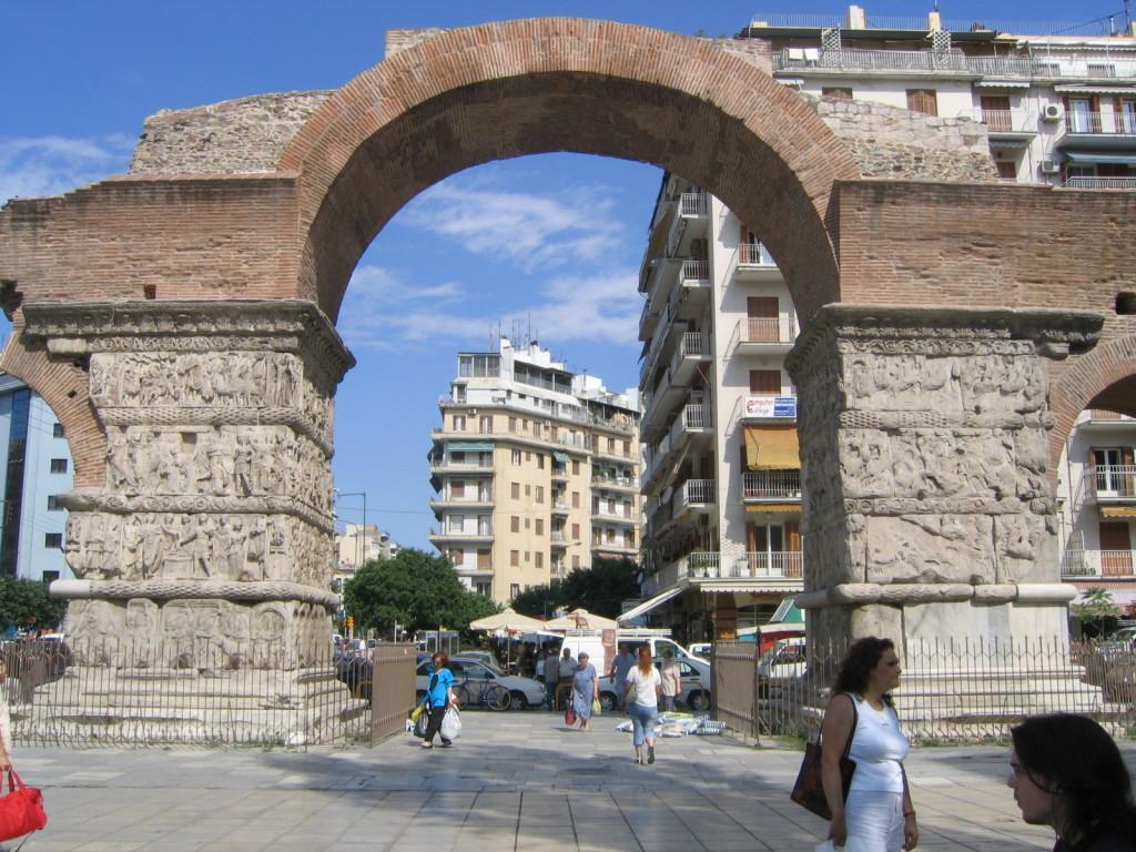 Víťazný Oblúk v Solúne (zdroj: Wikipedia)