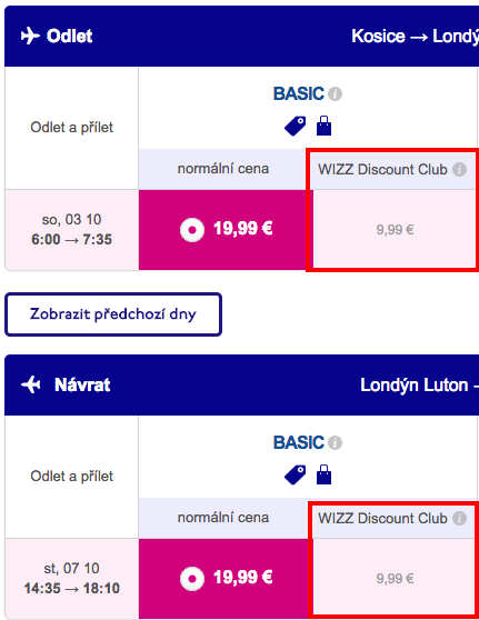 Wizz Air-discount-londyn