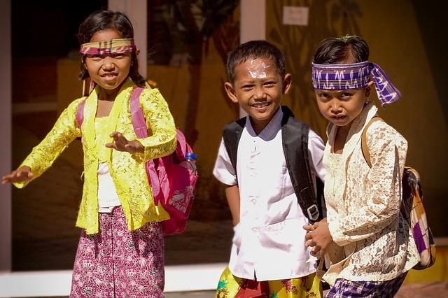 Deti na Bali