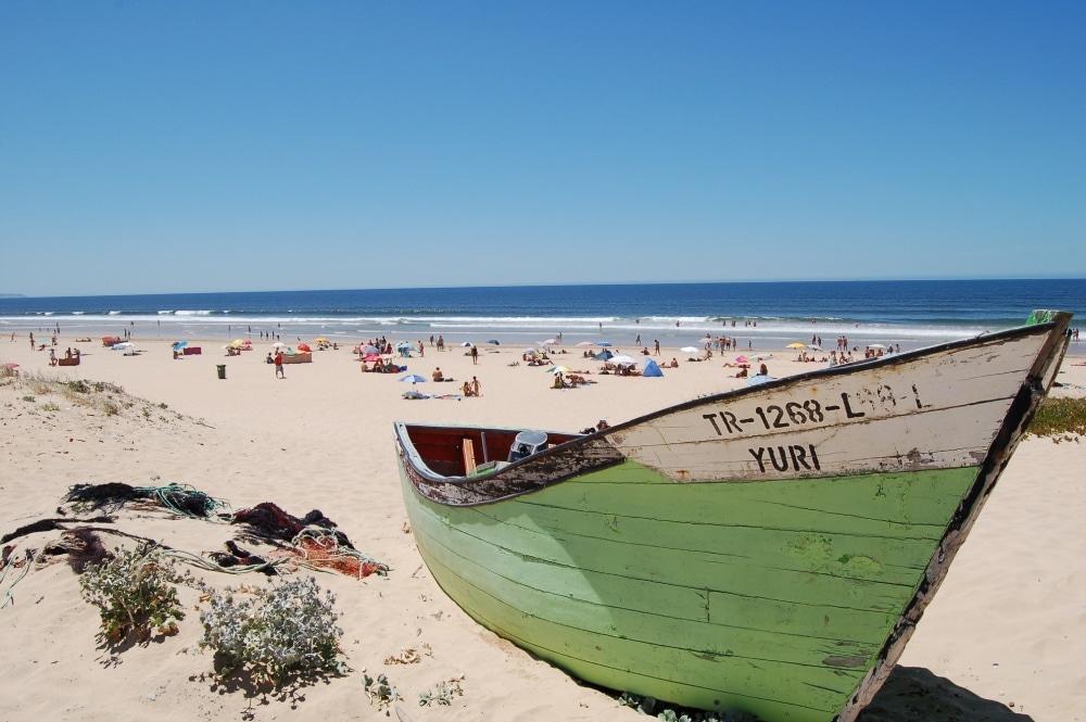 pláž lisabon portugalsko