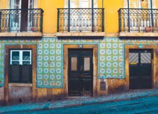 azulejos, lisabon portugalsko