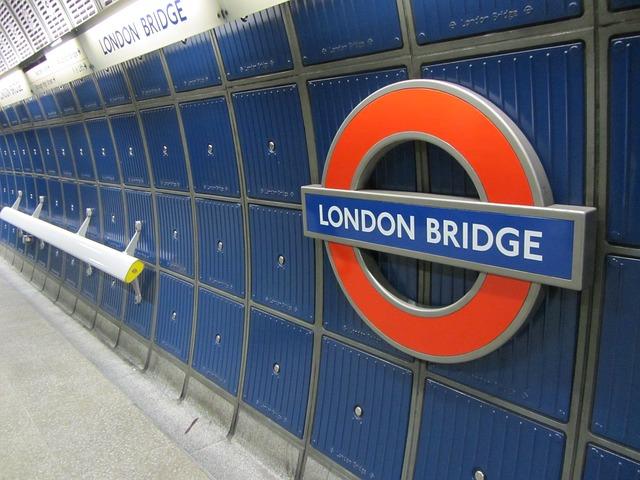 Metro stanica v Londýne