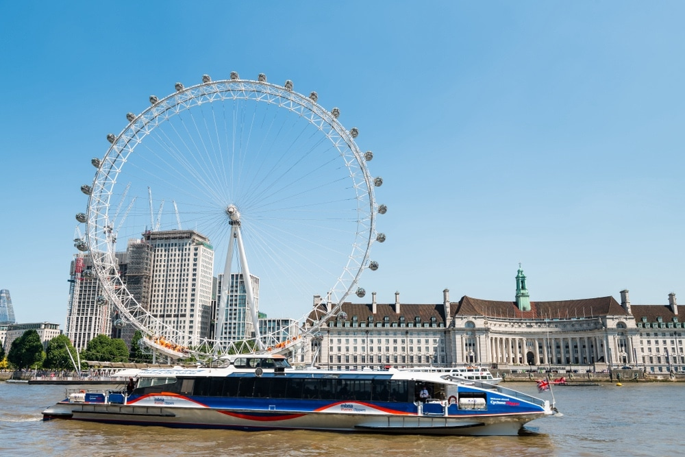thames clipper lod londýn