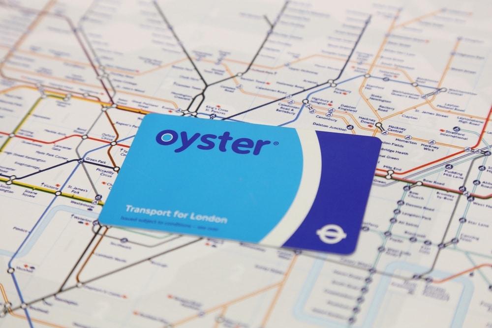 oyster card londýn