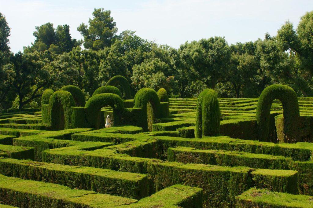 Zelený Labyrint v Barcelone (Wikipedia)