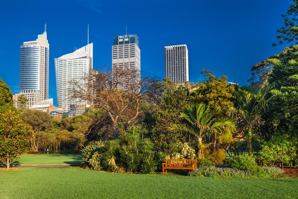 Botanické záhrady sydney