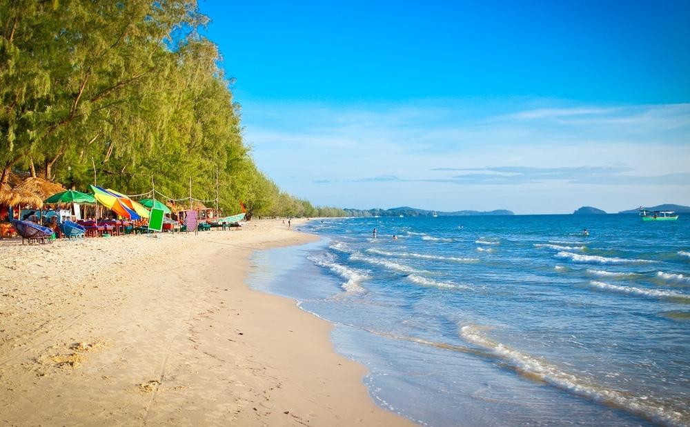 Otres Beach, kambodža