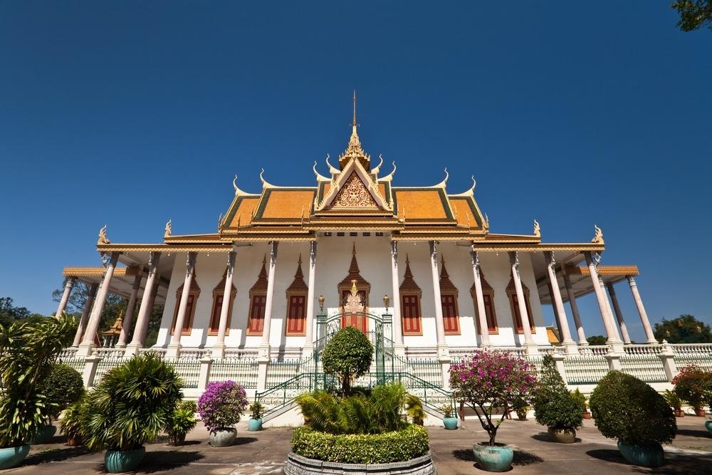 Royal Palace and Silver Pagoda, Kambodža