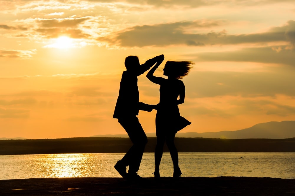 tancujúci pár