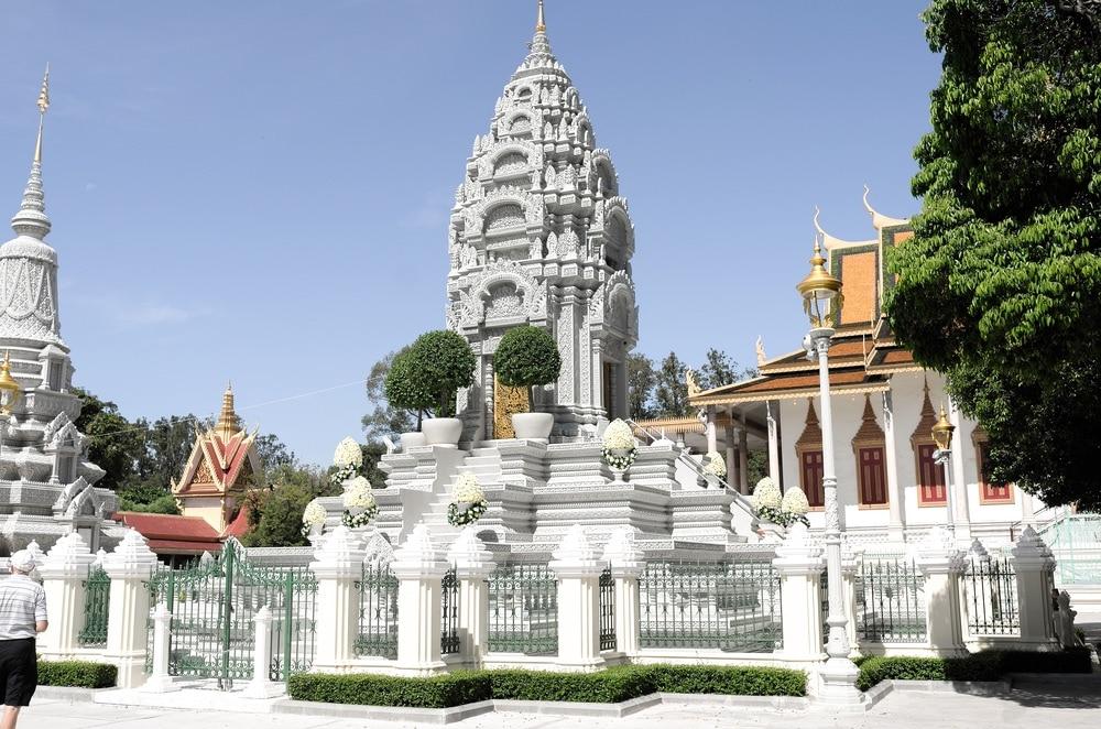 Royal Palace a Silver Pagoda, Kambodža