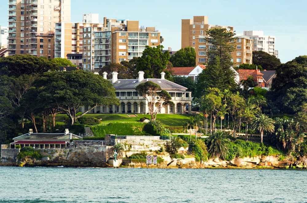 Dom guvernéra v Sydney