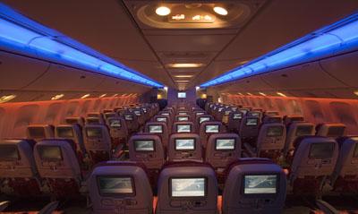 Qatar Airways - ekonomická trieda