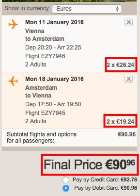 Letenky pre 2 osoby do amsterdamu za 91 eur