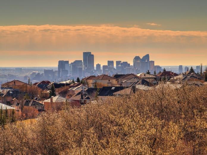 Pohľad na mesto Calgary