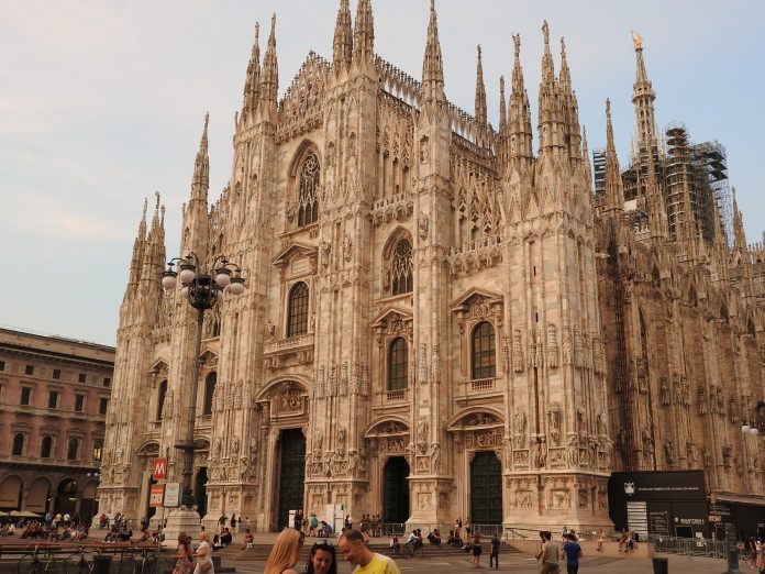 Miláno Katedrála Duomo