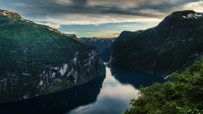 Krásna a úžasná príroda v Nórsku