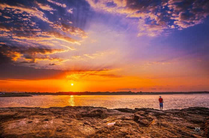 Malorka pri západe slnka