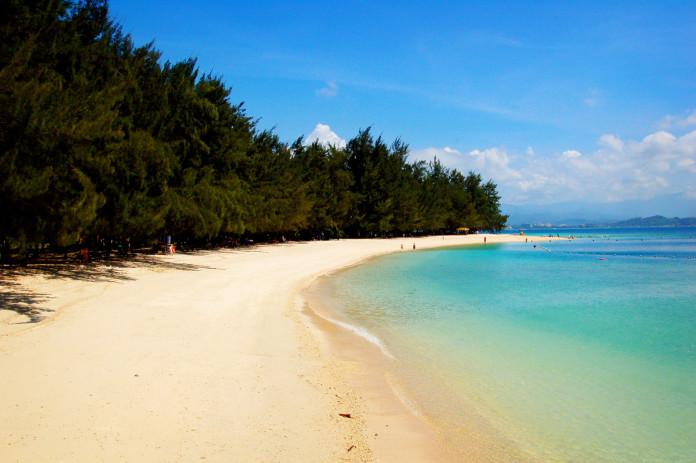 Pláž v Malajzii