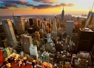 New York z Rockefeler Centra