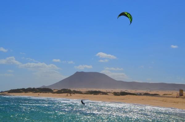 Kitesurfing na Kanárskych Ostrovoch