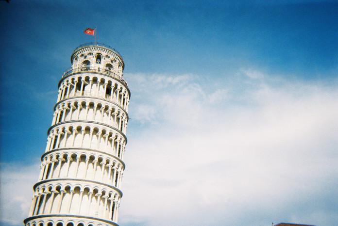 šikmá veža v Pizi
