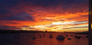 Západ slnka na Ibize