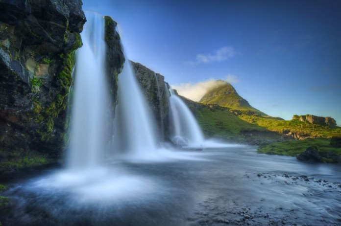 Vodopády na Islande