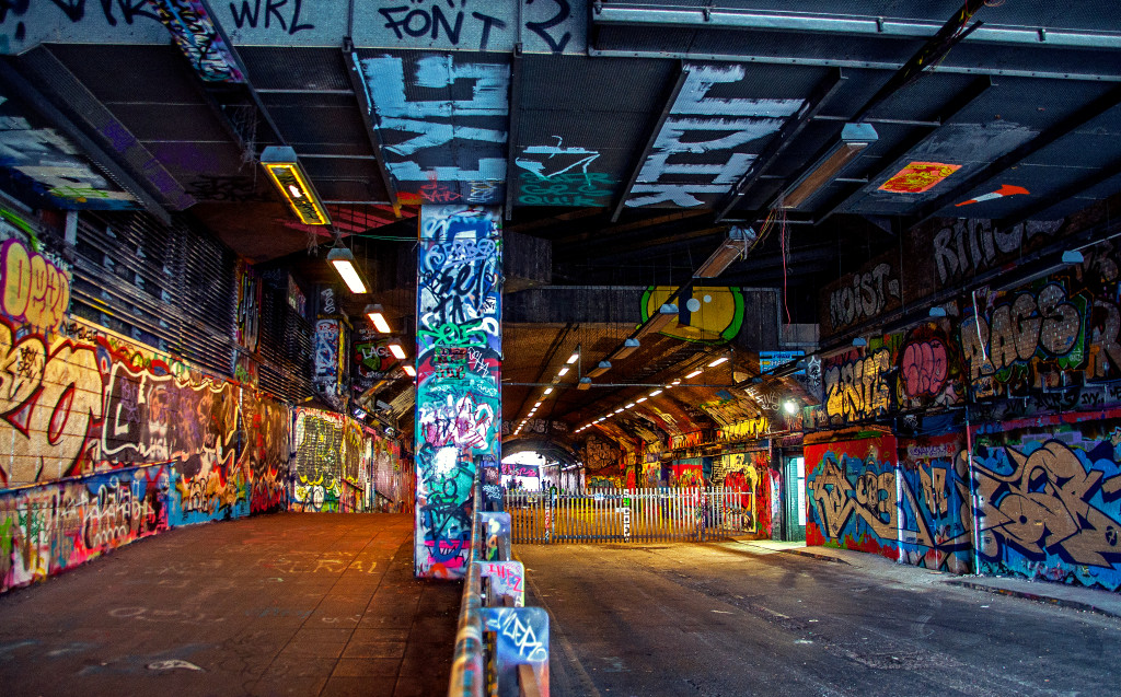 "Leake Street, ""Graffiti Tunnel"""
