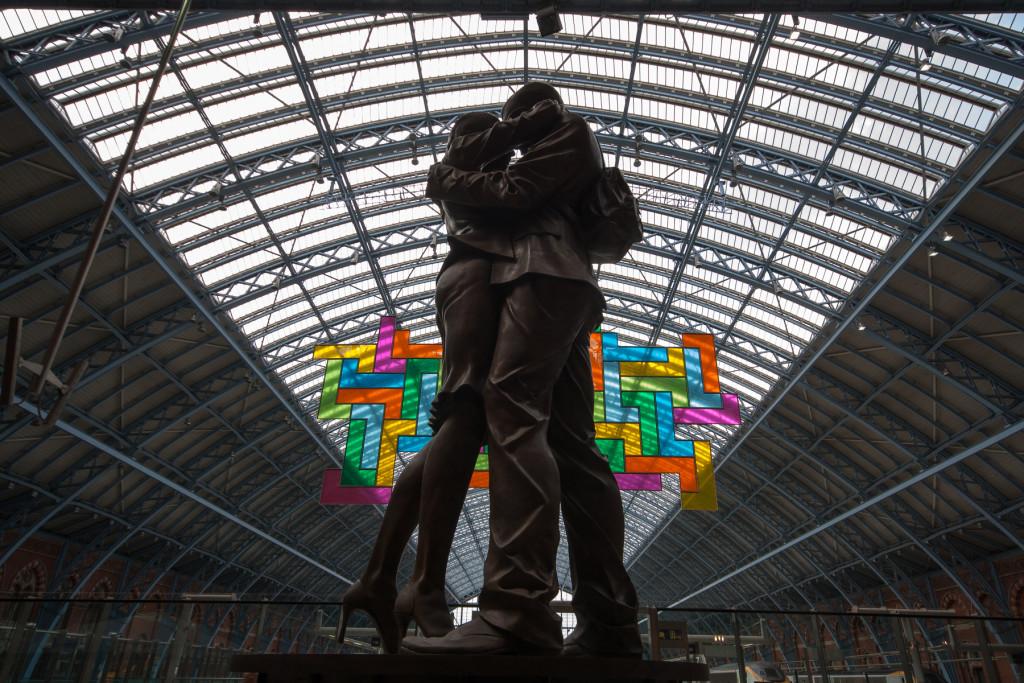 St Pancras Station v Londýne