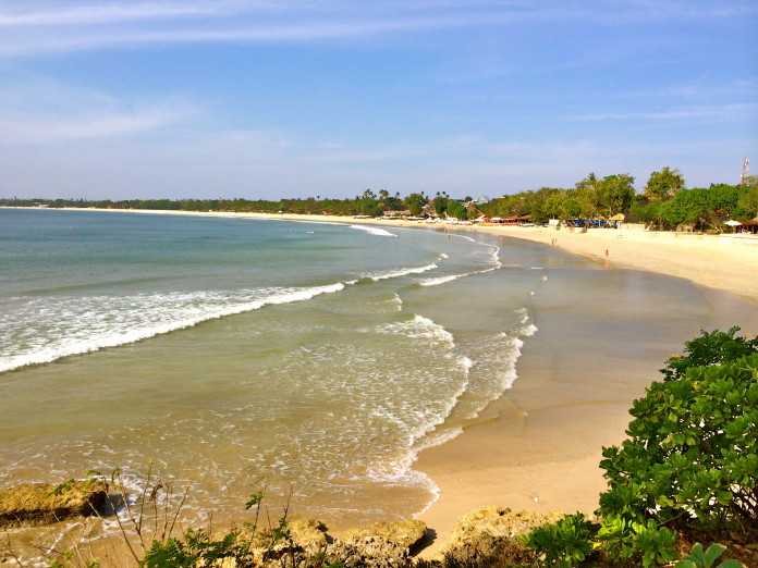 Pláž na ostrove Bali