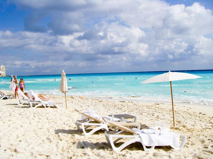 pláž v cancúne