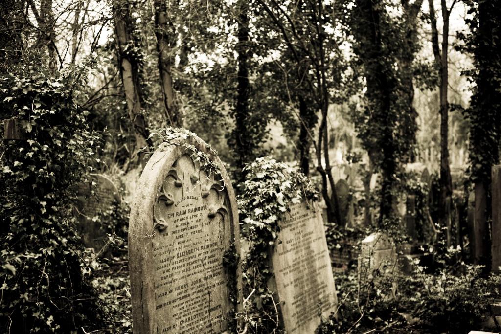 Highgate Cemetery - cintorín v Londýne