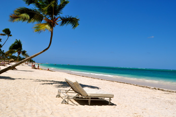 Pláž Dominikánska Republika