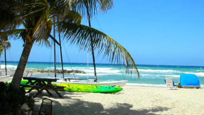 Jamajská pláž