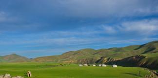 Krásna krajina v Mongolsku