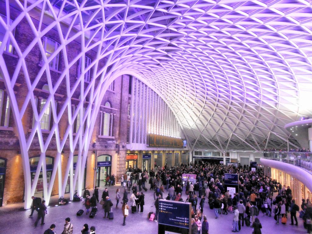 King's Cross stanica v Londýne