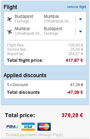 letenky Bombaj