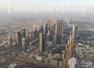 Dubaj, pohľad z vtáčej perspektívy