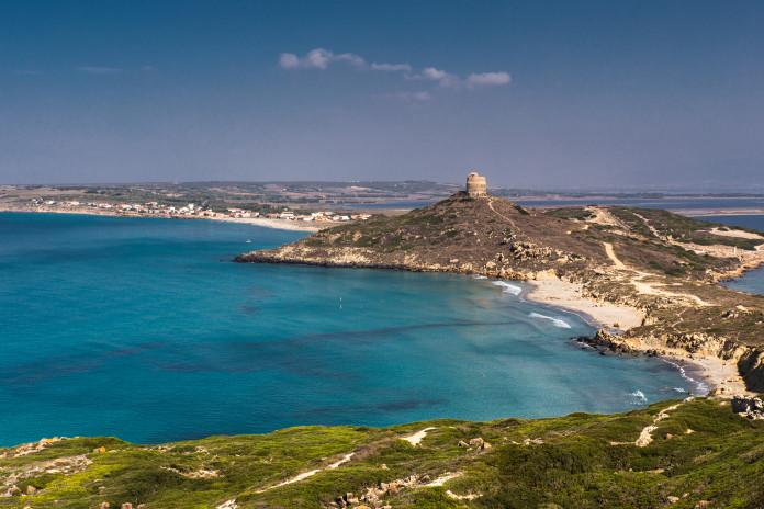 pobrežie Sardínie