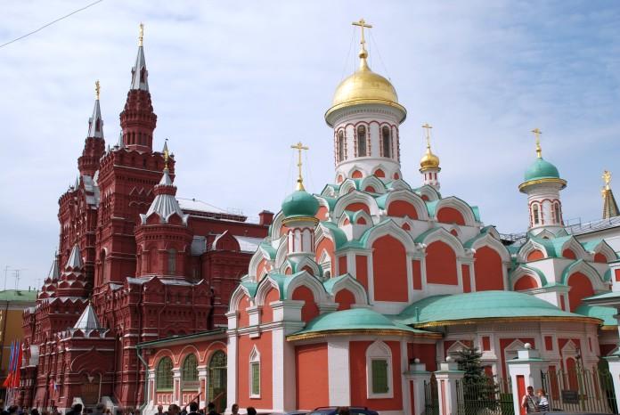 ruské pamiatky v Moskve