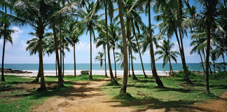 pobrežie a pláž v Brazílii