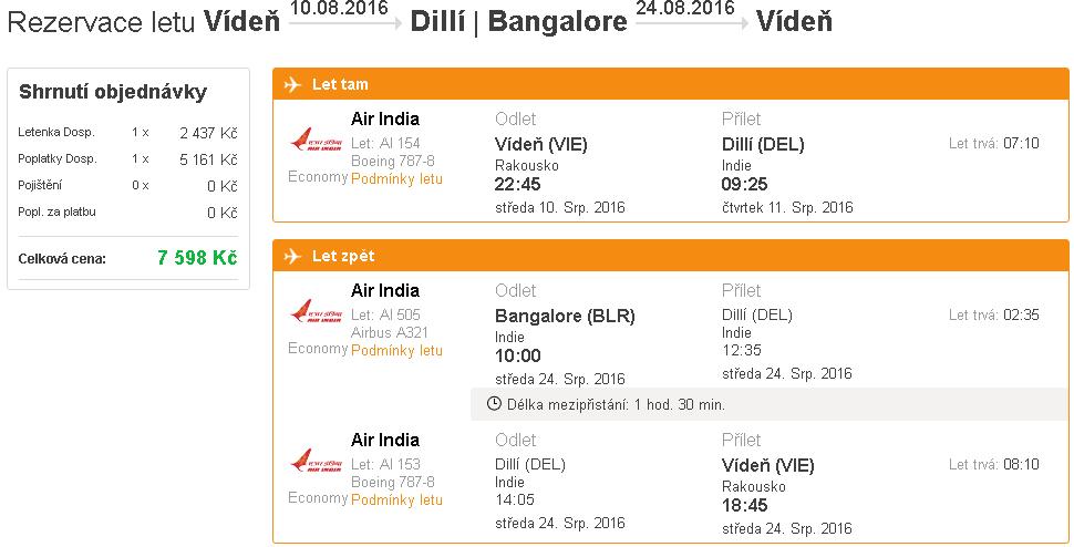 letenky Dillí