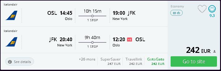 letenky Oslo